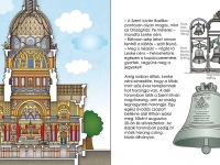 Harmadik kötet - A Szent István Bazilika keresztmetszeti rajzán sokáig dolgoztam. Sokszor felmentem a kupolába és igyekeztem a műszakilag és a belső falnézetek terén is korrekt rajzot készíteni, ugyanakkor visszaadni az épület pompáját.