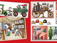 Negyedik kötet - Tűzoltómúzeum, Bélyegmúzeum, Postamúzeum: Három kevéssé közismert múzeum, amit érdemes gyerekekkel felkeresni. A Tűzoltómúzeum egy ma is működő tűzoltó állomás részeként a tűzoltás fejlődését mutatja be, a Bélyegmúzeum felbecsülhetetlen tárlatát alig lehet egyszerre végignézni, a Postamúzeum pedig igazi kuriózum.