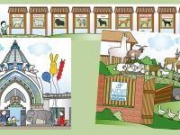 Negyedik kötet - Állatos helyszínek: A negyedik kötetben a Fővárosi Állatkert mellett szerepel a Rex Állatsziget és a Noé állatotthon is, innen származik az örökbefogadott kiskutya, akinek a történetét beleszőttem a könyvbe.