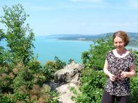 A Balaton a Csúcs-hegyről