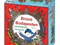Brúnó Budapesten / VÁROSNÉZÉS társasjáték