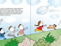 Pompom, a mopsz, az ikrek kiskutyája