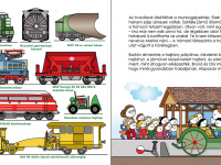 Vasúti járművek a Vasúttörténeti Parkban