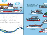 hajók a Duna budapesti szakaszán