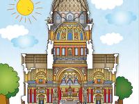 A Szent István Bazilika keresztmetszete