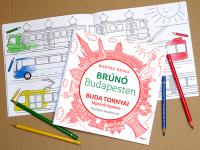 Foglalkoztatók a Brúnó Budapesten-sorozathoz