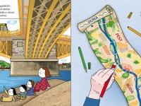 Margit híd, déli csücsök
