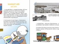 Schulek Frigyes tervei a Margit híd közepére