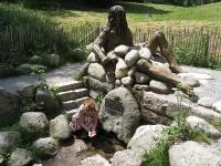 Danuvius-szobor a Duna forrásánál