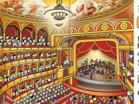 Operaház, nézőtér és színpad